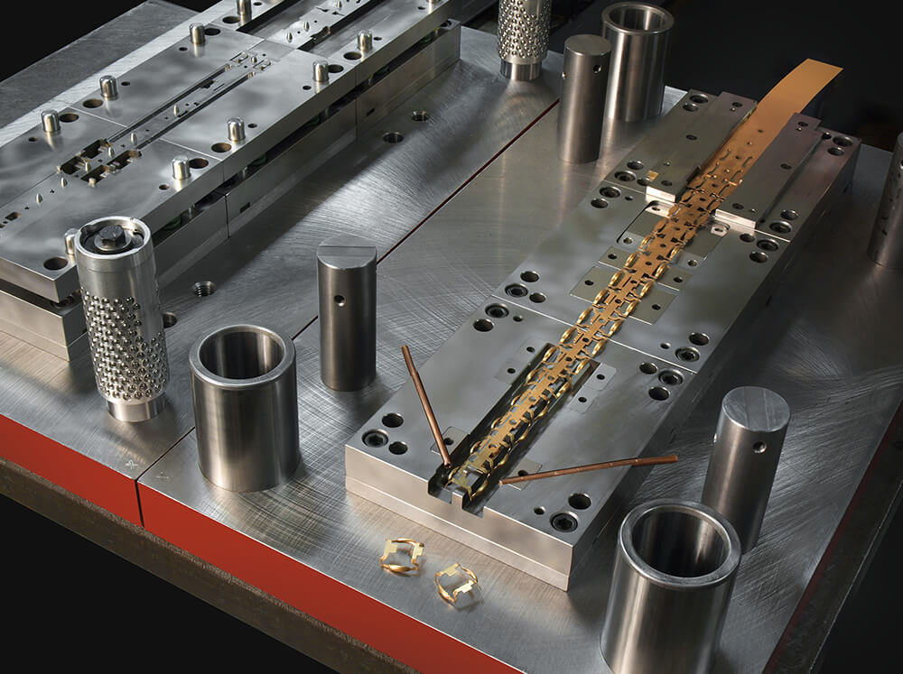 Power Press Stamping | Southington Tool & Manufacturing Corp